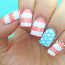 Pastel 4th of July / Independence Day Nails! | naildawdle