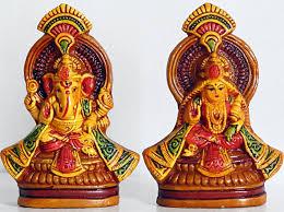 lakshmi ganesh statue