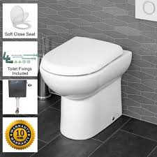btw back to wall toilet wc pan soft