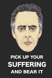 Jordan Peterson Pick Up Your Suffering And Bear It Blank Lined