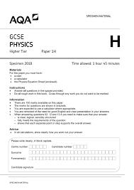 physics equation sheet gcse aqa 2018 tessshlo