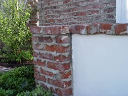 brick wall weeping mortar joints maureen gilmer morongo valley ca