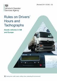 One Tachograph Chart Covers A Period Of Rules On Drivers Hours And Tachographs Goods Vehicles In Gb