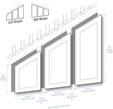 angled doors measuring guide jpg