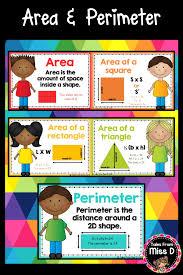 410 Best Area And Perimeter Images Area Perimeter School Classroom