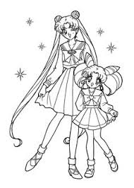 Small Picture Beautiful Sailor Moon Coloring Pages Sailor Moon Pinterest