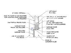 door jamb detail plan. GARAGE_DOOR_JAMB_DETAIL.dwg. Garage Door Jamb Detail Plan