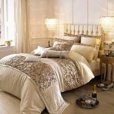 kylie minogue alexa gold super king duvet cover  house of fraser