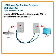tripp lite wiring diagram cat5 to hdmi wiring diagram cat5 image wiring diagram tripp lite p167 000 hdmi over cat