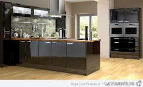 Small Picture Black Kitchen Design 15 Bold And Black Kitchen Designs Home