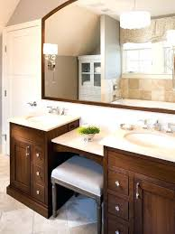 bathroom vanity makeup table double sink