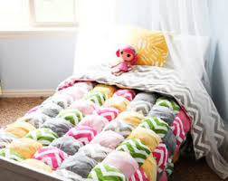 How to Make a Rag Puff Quilt Pattern PDF File & Twin Size or Larger Puff Quilt Pattern PDF File Adamdwight.com