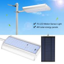 Outdoor Led Motion Sensor Light Details About Solar 70 Led Motion Sensor Light Outdoor Garden Path Street Wall Lamp Waterproof