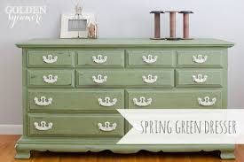 green painted furniture. Gorgeous Color Combo! Green And White The Golden Sycamore: Spring Dresser Painted Furniture H