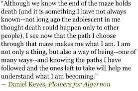Flowers For Algernon Quotes Adorable Flowers For Algernon Quotes Pinterest Flowers Sadness And