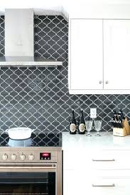 black and white tile kitchen backsplash innovative stunning black and white tile best ideas on kitchen