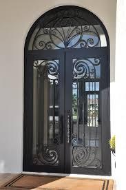 metal front doorsFront Doors 037