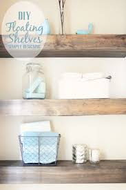 DIY Built-In Floating Shelves | how to build floating shelves - these make a