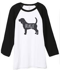 Beagle Dog Silhouette Unisex 3 ...