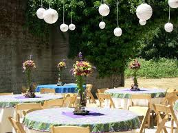 Party Decoration Ideas Outdoor