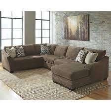 3 piece sectional sofa with chaise.  Piece Benchcraft Justyna Contemporary 3Piece Sectional With Right Chaise In 3 Piece Sofa With N