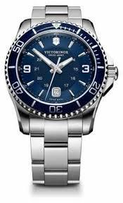 victorinox swiss army watches official uk retailer first class victorinox swiss army mens maverick gs blue dial watch 241602