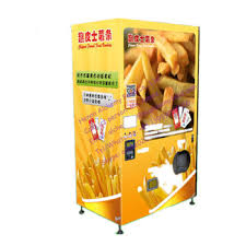 French Fry Vending Machine Canada Amazing Automatic Coin Operated French Fries Vending Machinesnack Food