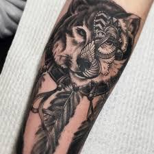 волк воет на луну тату значение татуировка волка для девушек