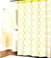 quatrefoil shower curtain gray