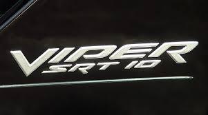 dodge viper srt 10 logo. Fine Dodge 000 2003  2005 Dodge Viper SRT10 Side Badging In SILVER 0WN81VADAB  EMBLEM DECAL With Srt 10 Logo V