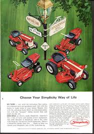 lawncare ad montamower print ad vintage 1951 home lawn care lawnmower grand
