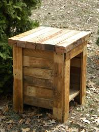 Pallet Entry Table Rustic Wood Pallet End Tablejpg Pallet Ideas Pinterest Wood