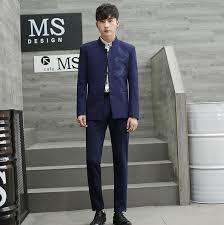 Formal Occasion Coat + pants Classical Tuxedos <b>Zhong Shan suits</b> ...