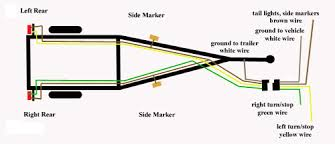 trailer wiring diagram for 4 way 5 6 and 7 circuits at how to wire 4 prong trailer plug wiring diagram trailer wiring diagram for 4 way 5 6 and 7 circuits at how to wire small