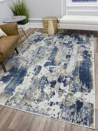 cosmoliving astor vintage sapphire blue gray contemporary area rug for rugs idea