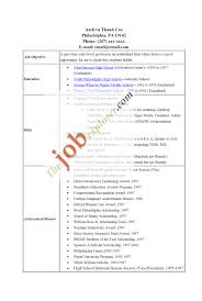 25 Enchanting Example Of Resume For College Students With No