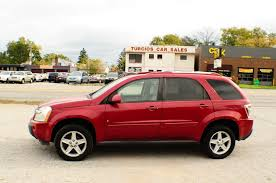2006 Chevrolet Equinox LT Red SUV used car sale