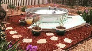 how to create a diy stock tank pool