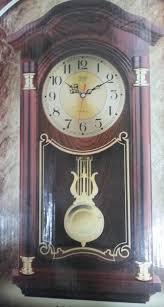 plaza quartz anchor pendulum wall clock time antique watch family living room