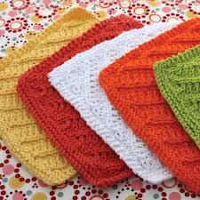Sugar And Cream Knit Dishcloth Pattern Gorgeous Lily Sugar'n Cream Diagonal Stitch Dishcloth Yellow Yarnspirations