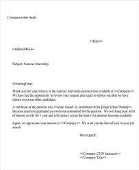 Internship Letter Barca Fontanacountryinn Com
