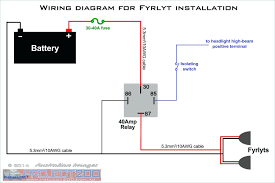 Basic Light Switch Diagram Driving Light Wiring Diagram With Relay Wiring Diagram