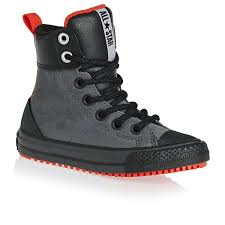 converse chuck taylor all star weatherized asphalt junior parchment leather ankle boots black boys shoes trainers converse hi tops red converse hi tops