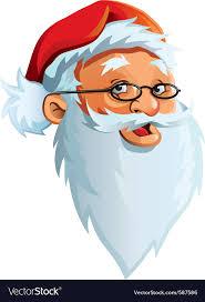 santa claus face images. Perfect Claus Santa Claus Face Vector Image Throughout Claus Face Images C