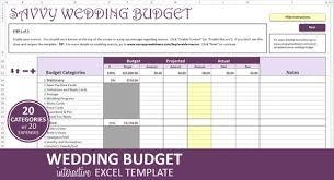 Savvy Wedding Budget Purple Wedding Budget Planner Excel Etsy