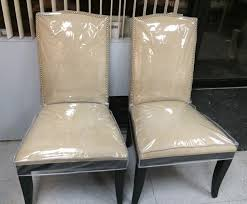 plastic dining room chair covers chuck nicklin