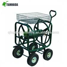 tc4716a best choice s water hose reel cart w basket for outdoor garden heavy