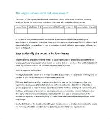 Meaningful Use Security Risk Analysis Template Create Technical ...