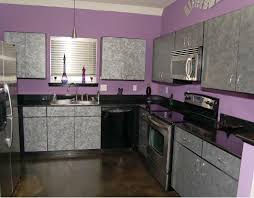 Kitchen:Popular Kitchen Cabinet Color Design Idea Trendy Purple Color  Scemes For Modern Kitchen Ideas