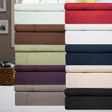 Amazon: 6 Piece 1500 Thread Count Deep Pocket Bed Sheet Sets As ...